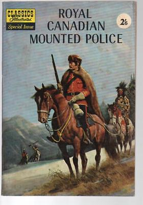 Royal Canadian Mounted Police Special Issue Classics Illus HRN 129 Brit Edition