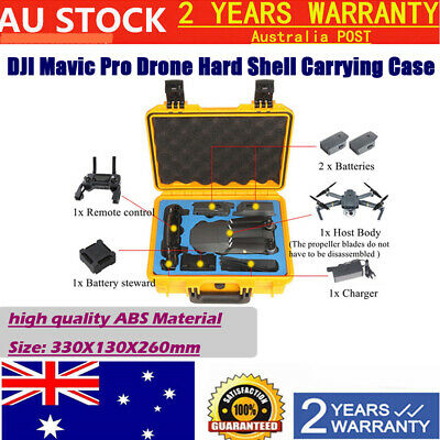 Pro Hard Case Updated Carry Box For DJI Mavic Drone RC Drone ABS Material AU