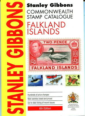 Stanley Gibbons Commonwealth Stamp Catalogue Falkland Islands 6th edition 2014