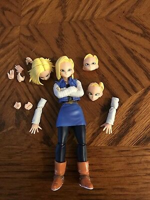 SH Figuarts Android 18 Loose No Package authentic Dragonball Z Super