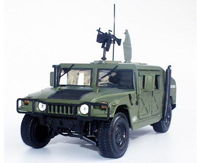 1:18 Hummer H1 military vehicle Willis jeep simulation alloy car model military