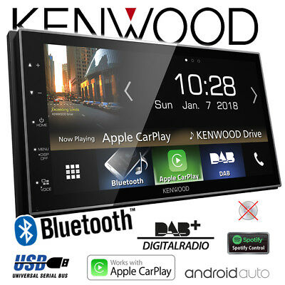 Kenwood DMX7018DABS Bluetooth/DAB+/USB/AndroidAuto/CarPlay/Touch KFZ Autoradio