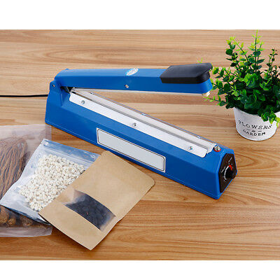Blesiya 8-Level Heat Sealer Plastic Bag Sealing Machine Europlug 220V, 13''
