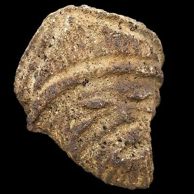 Ultra Rare Stone Age Ancient Neolithic Anthromorphic Vinca Bust, 4500Bc (2)