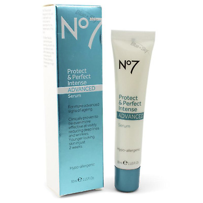 Boots No7 Protect and Perfect Intense Advanced Serum 30 ml (1 fl oz) Tube NEW