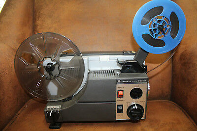 SANKYO 2000H  DUAL 8mm SILENT MOVIE PROJECTOR 100w SERVICED BY PROJECTOR HEAVEN