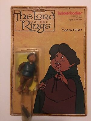 Lord Of The Rings Knickerbocker Samwise Action Figure