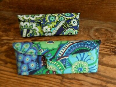 Vera Bradley Eyeglass Case, 2, both new