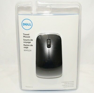 Dell WM524 Wireless Bluetooth Travel Mouse - BRAND NEW- SAME DAY FAST SHIPPING!