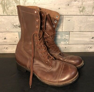 VINTAGE 1950s U.S. ARMY PARATROOPER BOOTS GENERAL SHOE CORP SIZE 9 1/2
