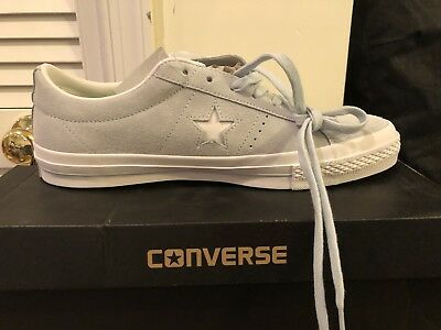 Converse One Star Suede OX Men's Polar Blue White Casual Sneakers