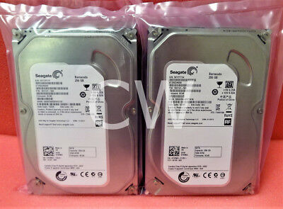 "Lot of 8 Seagate ST250DM000 250GB 720RPM SATA 3.5"" Desktop Hard Drive"