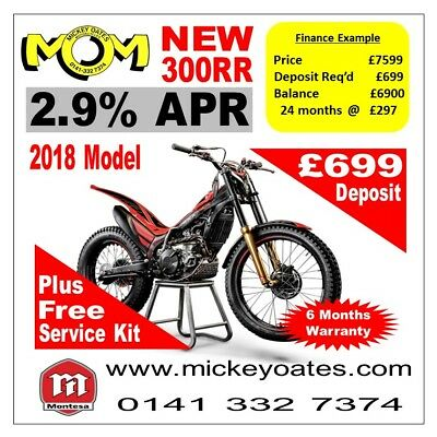 New 2018 Montesa 300RR £7599 +  2.9% APR Finance