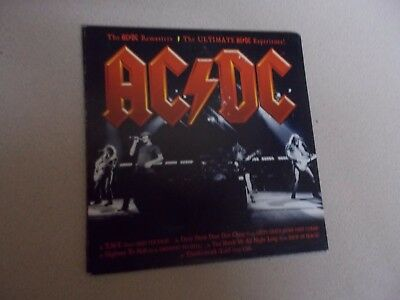 AC/DC: AC/DC Remasters: Ultimate AC/DC Experience!Signed Promo CD