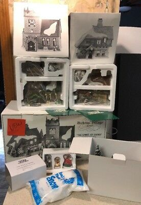 NEW Dept 56 Dickens Village - The Spirit Of Giving - Start a Tradition Set 58322