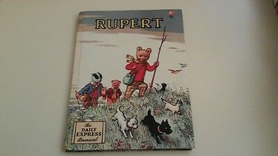 Rupert the daily express annual (1955  painting contest not attempted)