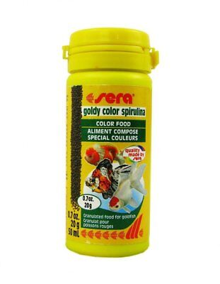 Sera Goldy Color Spirulina (50Ml, 100Ml, 250Ml, 1000Ml)