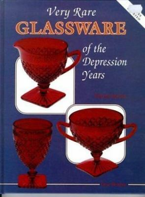 Very Rare Glassware of the Depression Years-ExLibrary