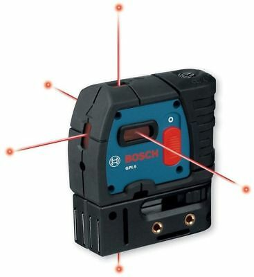 BOSCH GPL 5 5 Point Self-Leveling Plum and Square Alignment Laser