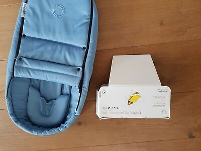 Bugaboo bee cocoon in ice blue- barely used