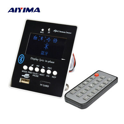 LED Lyric Display Bluetooth Audio MP3 Decoder Board MP3 Player Receiver Module