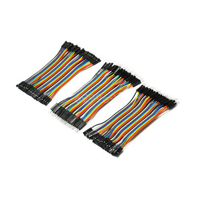 120pcs 10cm 2.54mm 1pin Jumper Wire Dupont Cable for Arduino
