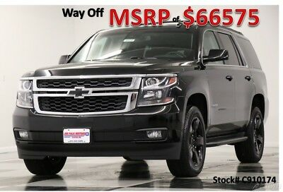Chevrolet Tahoe LT 4WD  Heated Leather Sunroof  Navigation  Camera 2019 LT 4WD  Heated Leather Sunroof  Navigation  Camera New 5.3L V8 16V 4WD SUV