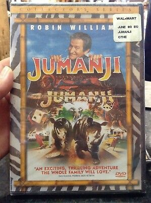 JUMANJI Collector's Series RARE OOP DVD Robin Williams BRAND NEW Factory Sealed
