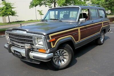 1987 Jeep Wagoneer Grand Wagoneer 1987 Jeep Grand Wagoneer - THE ORIGINAL SUV, GREAT RUNNER AND DRIVER!!