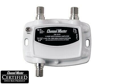 Channel Master Distribution Amplifier Signal Booster for TV Antenna CATV CM-3410