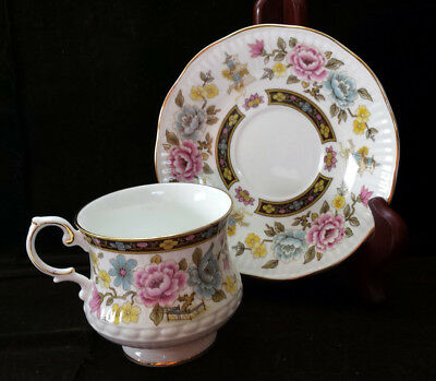 SALE - Rosina China Co Queens 'Cathay' Fine Bone China Cup & Saucer  England