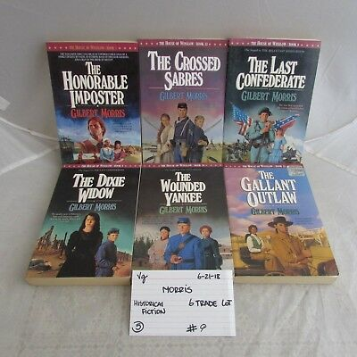 Gilbert Morris Lot Of 4 House Of Winslow Series Pb Books 9 10 14