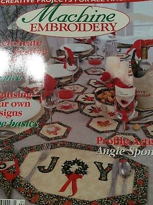 Machine Embroidery Magazine - Vol. 8 No. 2- 2002 xmas