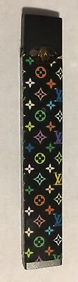 Black LV With Multicolored Icons Juul skin/wrap