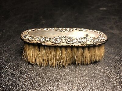 Antique Art Nouveau Sterling Silver 925 Hand Brush
