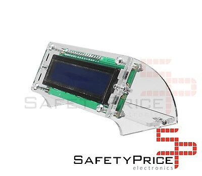 Case transparent for LCD 1602 Arduino I2C Electronics Acrylic SP