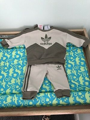 Adidas - Baby Boy Tracksuit - age 3-6 months