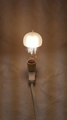 Antique Ge Mazda National Frosted Tip Working Light Bulb / Bryan Marsh