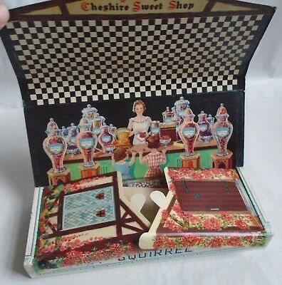 Scarce 1930's Unused Ye Old Cheshire Pop Up Toy Sweet Shop