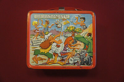 The Flintstones 1971 Lunchbox No Thermos