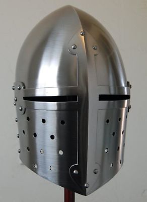Medieval Suger loaf Armour-Helmet Roman7knight helmets-with Inner Liner w2
