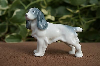 VTG Metzler Ortloff GERMANY Porcelain ENGLISH SPRINGER SPANIEL Cocker Dog