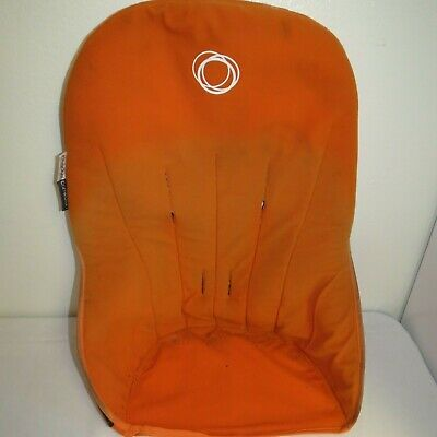 Bugaboo Cameleon Baby Child Stroller Seat Liner Orange Fleece Fabric Replacement