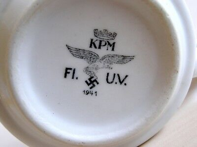 WW2 german coffee cup 1941 KPM