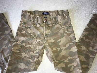 Girls Size 8 Place Camouflage Jeggings Stretch; Adjustable Waist
