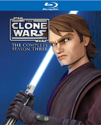 Star Wars The Clone Wars - Saison 3 Blu Ray NEUF