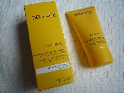 Decleor Phytopeel Smooth Exfoliating Cream with Thyme Essential Oil 50ml