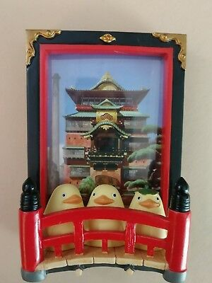 Spirited away no kamikakushi mini photo frame studi ghibli Japanese Bath House