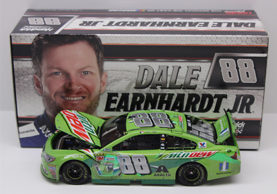 2017 Dale Earnhardt Jr Mountain Dew Talladega Ride Raced Version 1/24 Free Ship