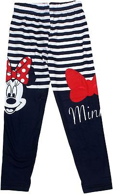 Minnie Mouse Kids Stripe and Spot Leggings 3-8 Years